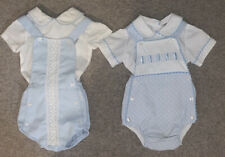 Spanish Baby Boy Romper Outfit Bundle 12 Months
