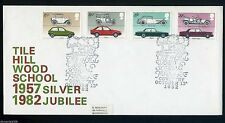 Cars Great Britain Official First Day Covers (1971-Now)