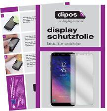 2x Samsung Galaxy A6 Plus Protector de Pantalla protectores transparente dipos