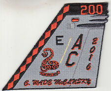 VFA-86 SIDEWINDERS McCLUSKY 2016 TAIL FIN PATCH