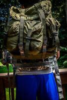 US Military ALICE Pack / MOLLE II Hybrid - Medium Combat Field Pack. Used Good