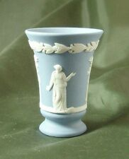 Wedgwood Jasperware Light Blue Miniature Muses Vase