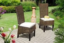 Moderne Esszimmerstühle aus Rattan