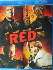 RED (2010)  Blu-ray Bruce Willis Morgan Freeman John Malkovich Helen Mirren