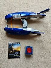 HALO 3 COVENANT PLASMA RIFLE REPLICA  LASER TAG TOY BY JASMAN TOYS WORKING