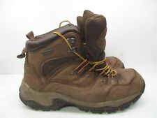 ITASCA Boots Men's Size 10 WATERPROOF Brown Leather