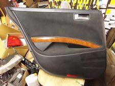04-08 Maxima Black Left LH Rear Interior Door Trim Panel Back Armrest Handle