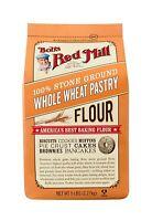 Bob's Red Mill 100% Stone Ground Whole Wheat Pastry Flour 5lbs Non-GMO Kosher