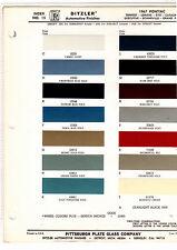 1967 PONTIAC GTO BONNEVILLE LEMANS TEMPEST GRAND PRIX PAINT CHIPS DITZLER 14PC