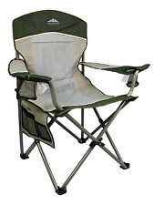 Oversized Camping Lounge Chair Large Big Folding Portable Heavy Duty Outdoor