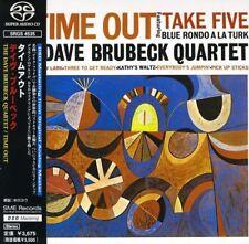 "SACD The Dave Brubeck Quartet "" Time Out ""  SuperAudio CD Take Five Paper Jacket"
