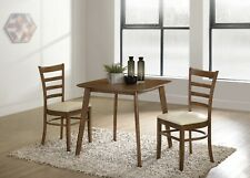 """Small Kitchen Square Wood Dining Table Apartment Home 30"""" Brown"""