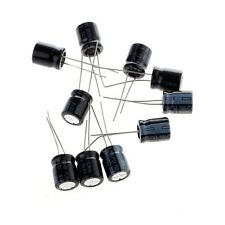 10 PCs 100v 47uf Radial Electrolytic Capacitor 10mmx13mm