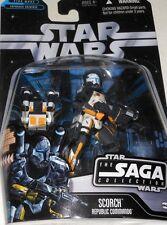 "STAR  WARS  SCORCH  REPUBLIC  COMMANDO  yr.2006  33/4"" Action  Figure."