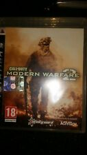 CALL OF DUTY MODERN WARFARE 2  PS3 PLAYSTATION NO PS4 BLU RAY DVD 4K