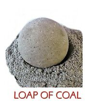 """Christmas Gift Bath Bomb Fizzy """"LUMP OF COAL""""  5.5""""  MADE IN THE USA"""
