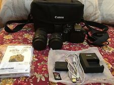 Canon EOS Rebel T6 (1300D) with 2 Lenses,Bag,16gb Memory Card