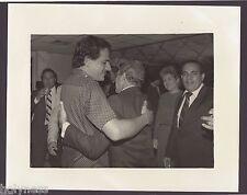 VINTAGE PRESS PHOTO / GOV. RAFAEL HERNANDEZ COLON / PUERTO RICO / 1980's / #14