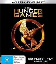 The Hunger Games Complete 4-Film Collection BRAND NEW Region 4 DVD
