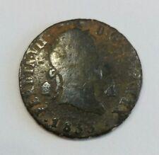 Fernando VII. 1833. 4 Maravedi. Ceca De Segovia