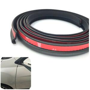 Rubber Sealing Strip Soundproofing Pair 90cmx20mm For Car Front Door A Pillar