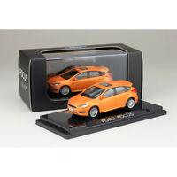 ORIGINAL 1:64 Scale 2012 Ford Focus Orange Diecast Car Model Collection NEW
