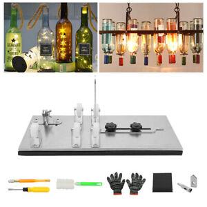Glass Bottle Cutter Kit DIY Tool Adjustable Stainless Steel Glass Cutting Set UK