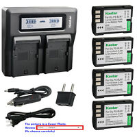 Kastar Battery LCD Dual Fast Charger for Olympus BLM-1  Olympus C-7070 Camera