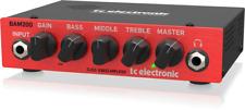 Used TC-Electronic BAM200 200 Watt Bass Guitar Amplifier Head