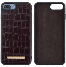 Cover Nera Iphone 7 / 8 in pelle di Coccodrillo - Andrea Morante ®️