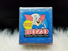 "Bozo The Clown 7"" Desktop Bop Bag (New, Sealed)"