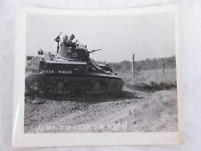 Vintage Photo Of US M2 Light Tank