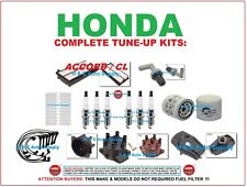 1997-99 CL ACCORD V6 Tune-Up Kits: Spark Plug WireSet Filter Dist. Cap & Rotor