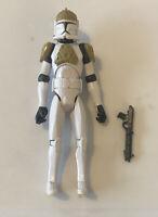 "Star Wars Clone Wars - Turbo Tank Gunner Trooper Hasbro 2008 3.75"" Loose Figure"