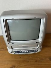"""Magnavox TV Color 13"""" Model MC13D1MG01 CRT Retro Gaming Television READ!"""