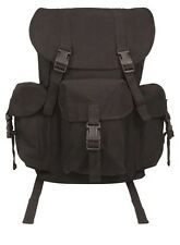 Rothco 9202 Canvas Outfitter Backpack - Black