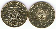 Wojewodztwo Malopolskie 2004 2 Zl Muenze Nordic Gold Bfr,
