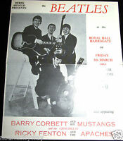 BEATLES Concert Memorabilia Paul McCartney Pop Music Rock n Roll Guitar Band UK
