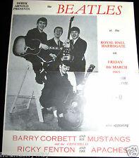 BEATLES Concert Memorabilia Paul McCartney Pop Music Rock n Roll Guitar Band UK