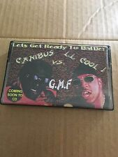 LL COOL J Vs Canibus GMF Presents CLASSIC 90s NYC Hip Hop Cassette Mixtape RARE
