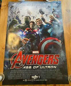 Avengers: Age of Ultron Double Sided Original 27 x 40 Poster (Read Description)