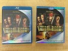Pirates of the Caribbean Curse of the Black Pearl (Blu-ray) W/ SLIPCOVER
