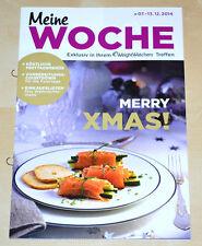 Weight Watchers Meine Woche 7.12 - 13.12 ProPoints™ Plan 2014 Wochenbroschüre