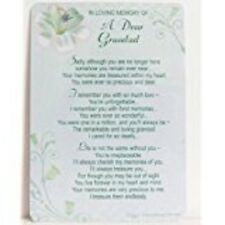 Grave Card In Loving Memory Of A Dear Grandad...xpress yourself xy35007