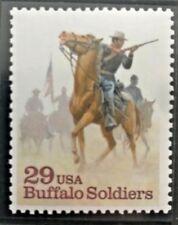 BUFFALO SOLDIERS - SINGLE COMMEMORATIVE STAMP - 1994 USPS MNH