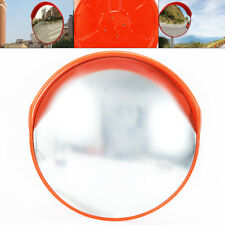 "45cm/18"" Outdoor Traffic Convex Pc Mirror Wide Angle Driveway Safety Security"
