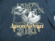 Jason Aldean 2010 one sided  t-shirt L