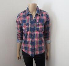 Hollister Womens Plaid Button Up Long Sleeve Shirt Size Small