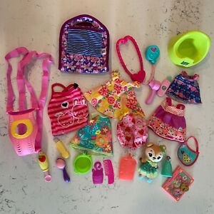 Baby Alive Doll Lot Clothing Accessories Lot Medical Potty Carrier Bib Lotion