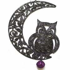 Gisela Graham Moon Hanging Owl 90092